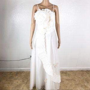 Wedding gown vintage size 10